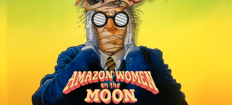 Image result for amazon women on the moon