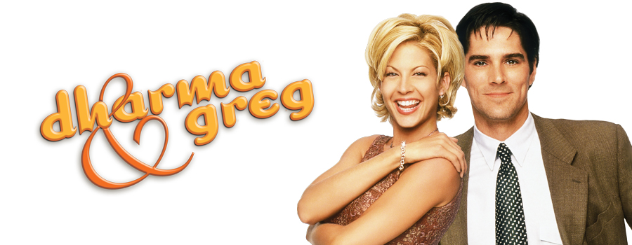 Dharma and greg logo