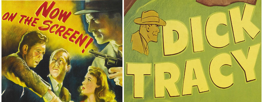 Dick tracy movie poster shop
